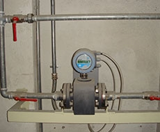 Electromagnetic  Flowmeter at Cooling Plant