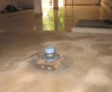 Level Measurement of Sewage in Underground Sump