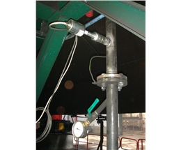 Flow measurement of activated carbon powder