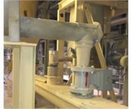 Flow Measurement of Clay for building material