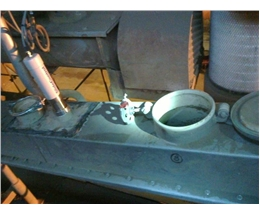 Flow rate monitoring of cement after cyclone separator