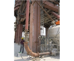 Mass flow measurement of Flyash in Cement plant