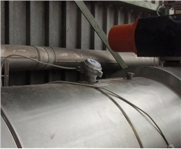 Monitoring of cement dust in clean gas channel